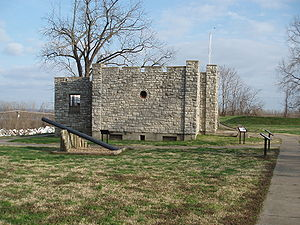 Gun Powder House, Fort D, Cape Girardeau, Missouri