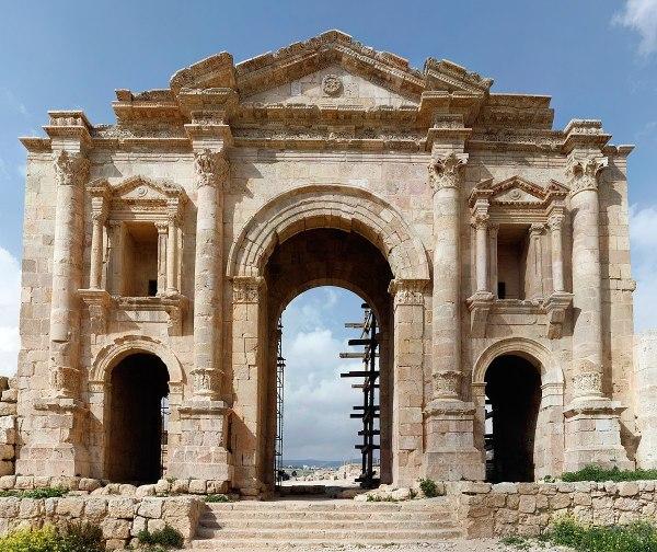 Arch Of Hadrian Jerash - Wikipedia