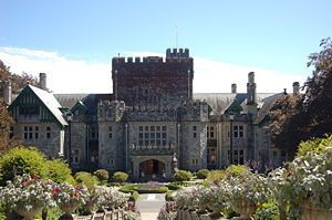 Hatley Castle, near Victoria, British Columbia...