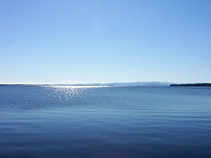 Lake Champlain in September