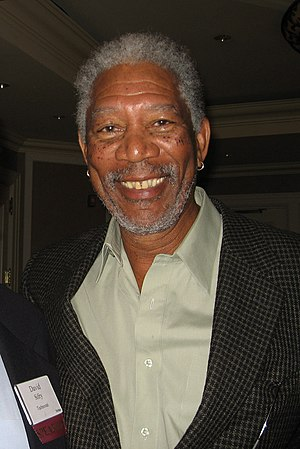 Morgan Freeman, Academy Award-winning American...