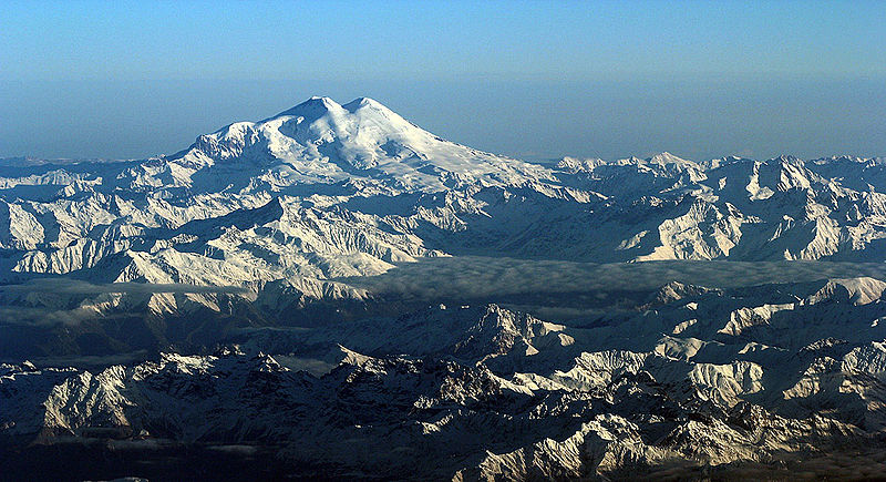 Mt Elbrus, Greater Caucasus