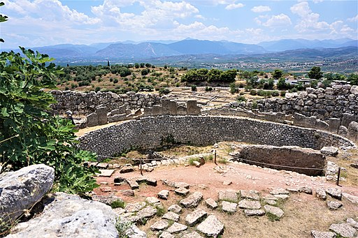 Mycenae Grave Circle A by Joy of Museums 2