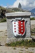 Fahne und Wappen des Kantons Wallis  Wikipedia