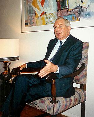 Lëtzebuergesch: De President Chaim Herzog.