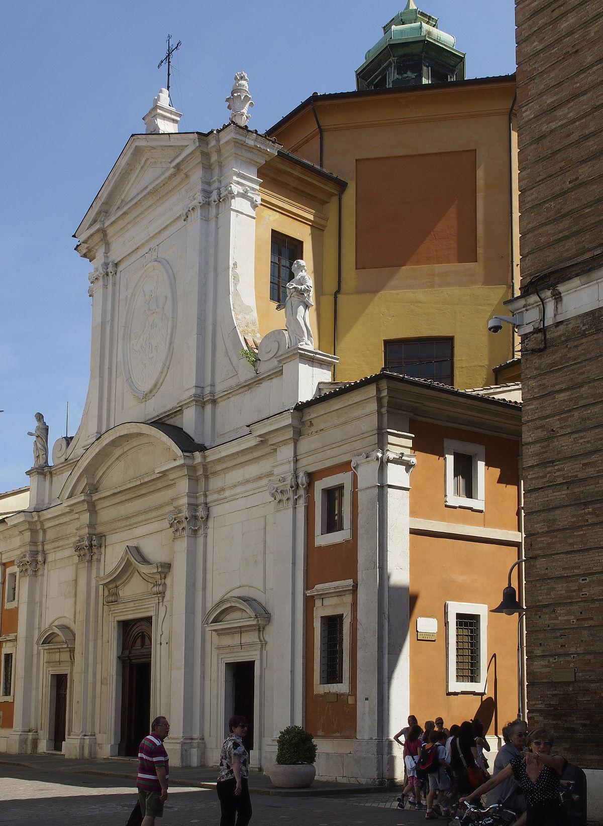 Chiesa di Santa Maria del Suffragio Ravenna  Wikipedia