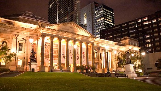State Library at Night