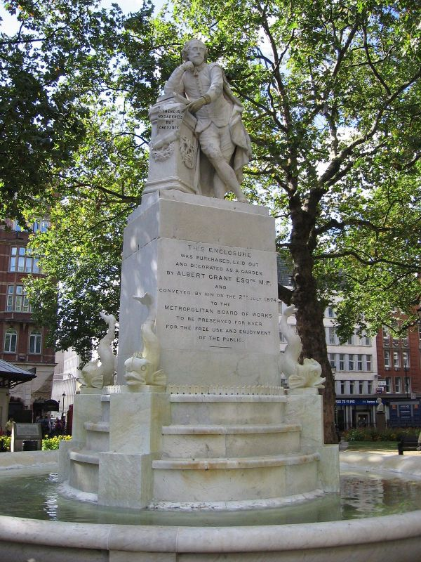 Statue Of William Shakespeare Leicester Square - Wikipedia
