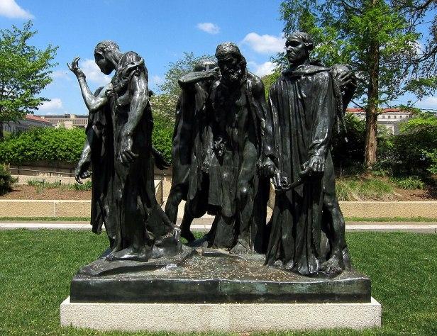 The Burghers of Calais - Hirshhorn Sculpture Garden