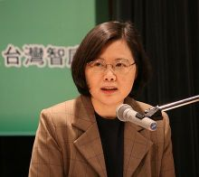 Tsai Ing-wen, President of the Republic of China and current DPP Chairperson (2008-2012, 2014-present)