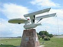 Enterprise replica in Vulcan