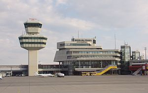 tower and main concourse of Berlin-Tegel Inter...