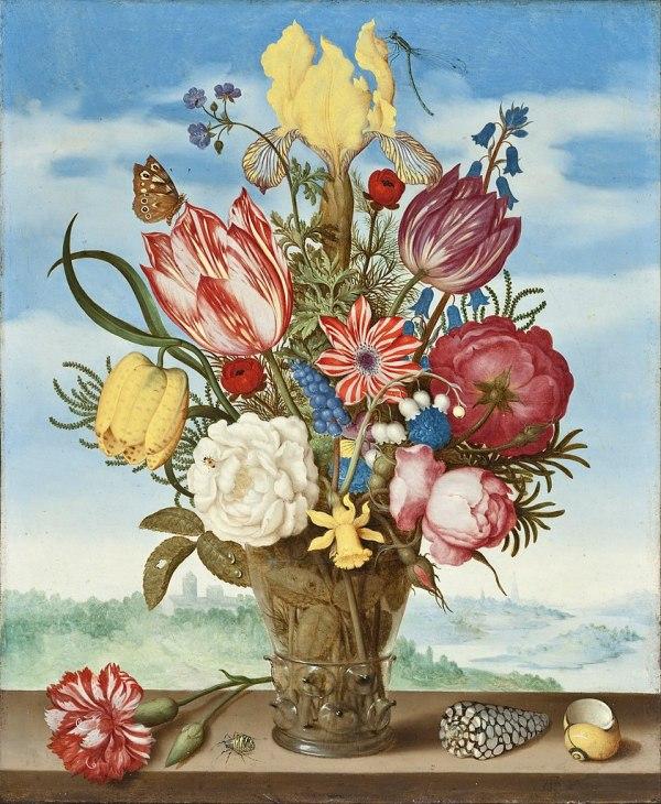 Ambrosius Bosschaert Painting