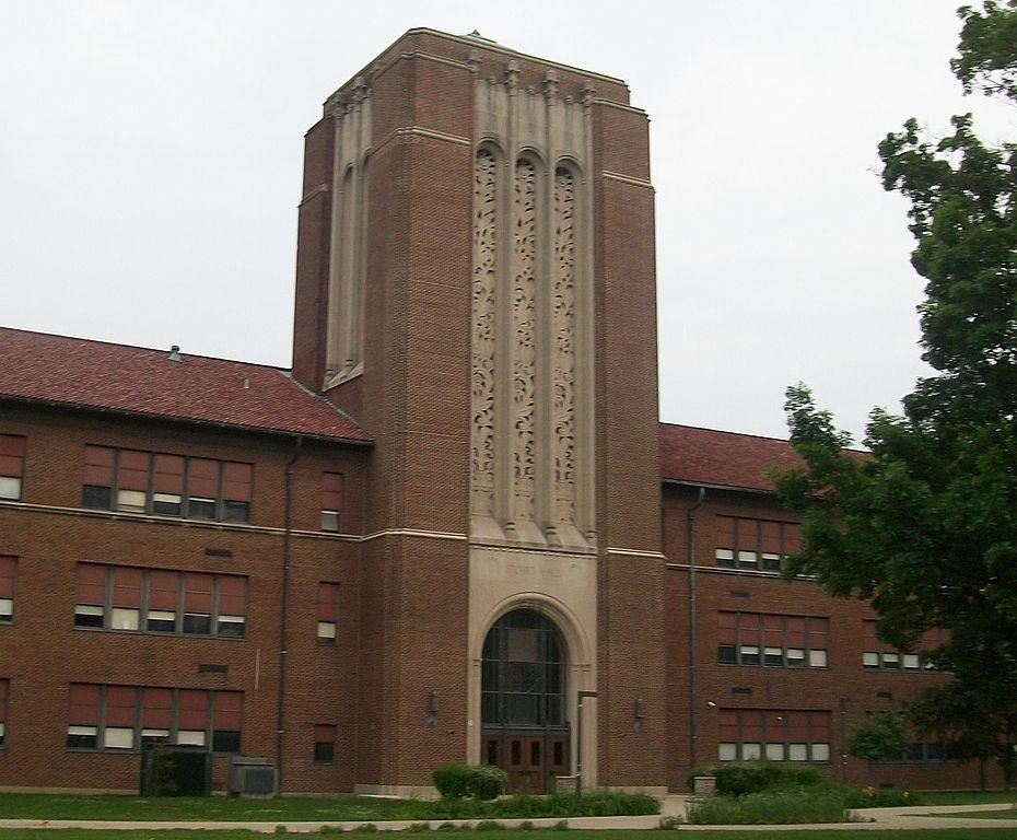 FileArsenal Technical High School Stuart Hall bell tower