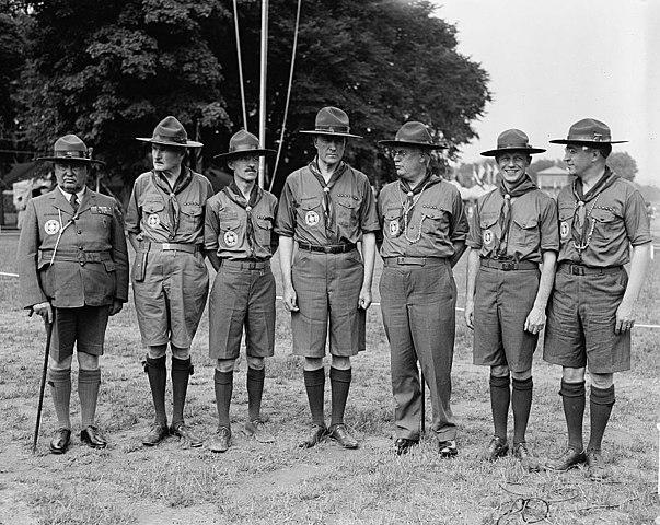 File Bsa Leadership At The 1937 Scout Jamboree E Urner