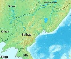 Lokasi Balhae