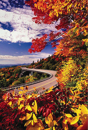 Fall In The Smoky Mountains Wallpaper Blue Ridge Parkway Wikitravel