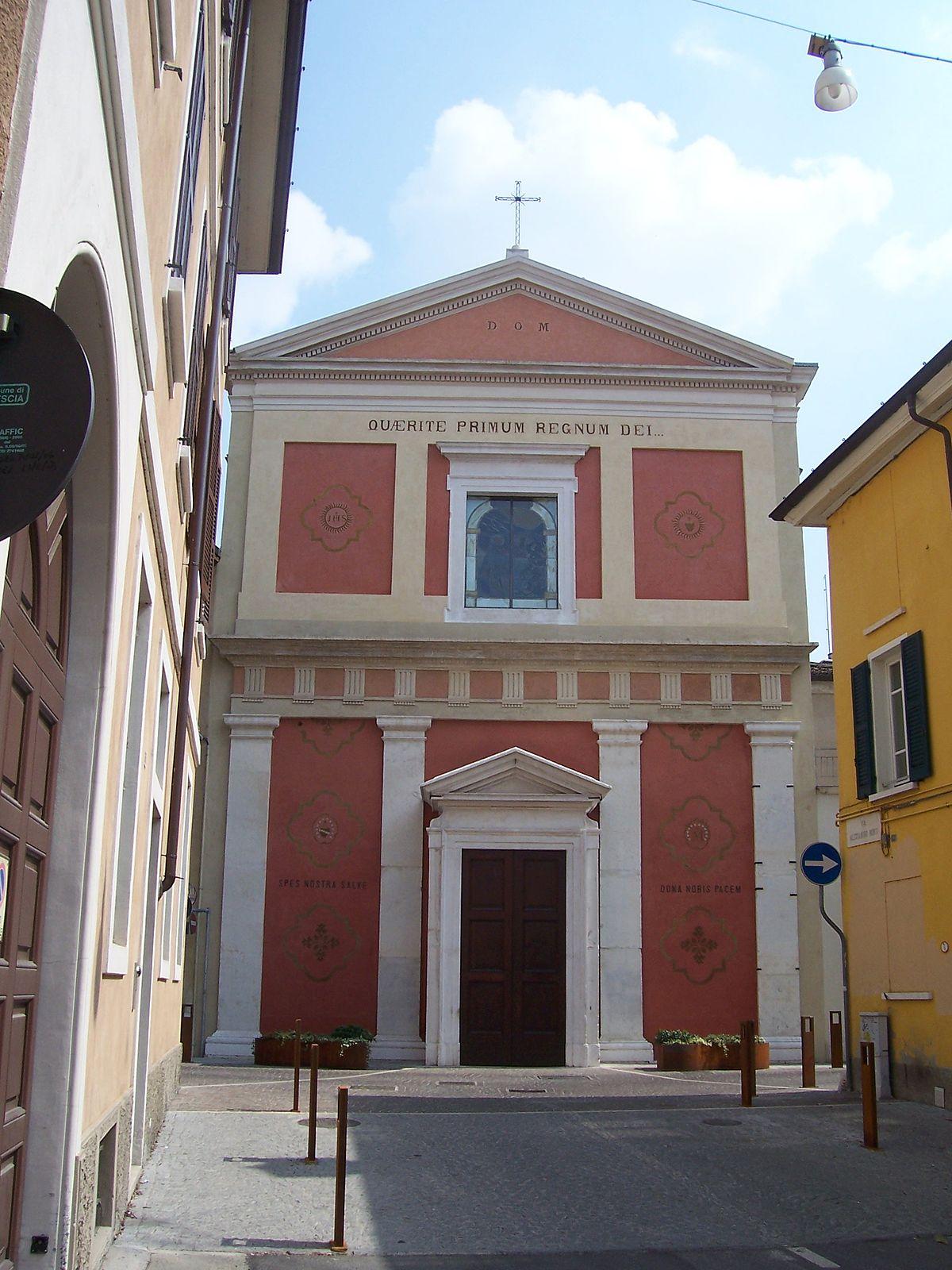 Chiesa di San Gaetano Brescia  Wikipedia
