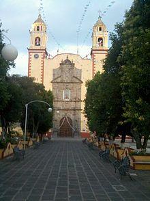 Antiguo convento franciscano Cholula de Rivadavia