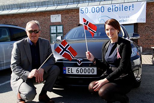 Feiring av EL60000 i Norge 50K
