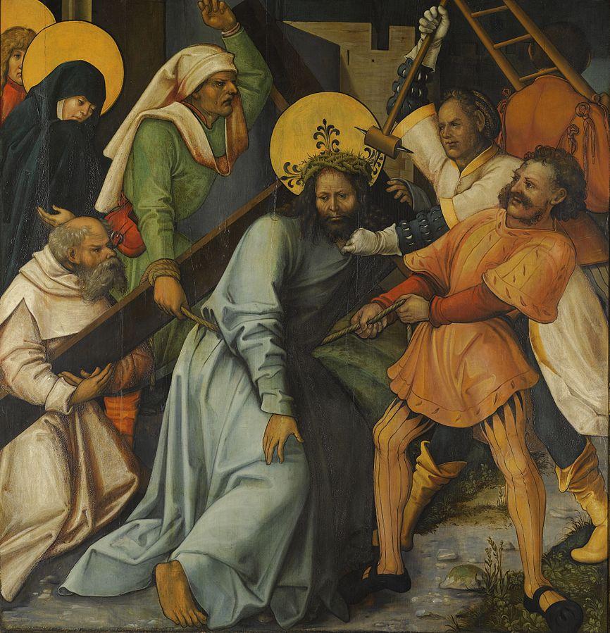 File:Hans Schäufelein - Die Kreuztragung Christi.jpg