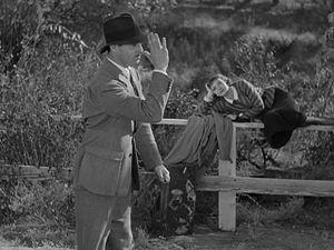 Cropped screenshot of Clark Gable and Claudett...