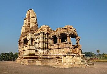 English: Dulhadeo (Dulhadev) Temple, Khajuraho...