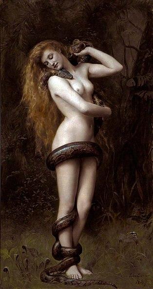 John Collier: Lilith (Adams erste Frau, eine der vier Königinnen der Dämonen und erster Soccubus)