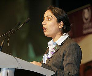 Malalai Joya, brave woman in Afghanistan speak...