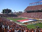 Darrell K. Royal-Texas Memorial Stadium, home of Texas Longhorns football.