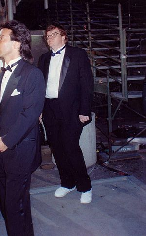 Michael Moore at the 62nd Annual Academy Award...