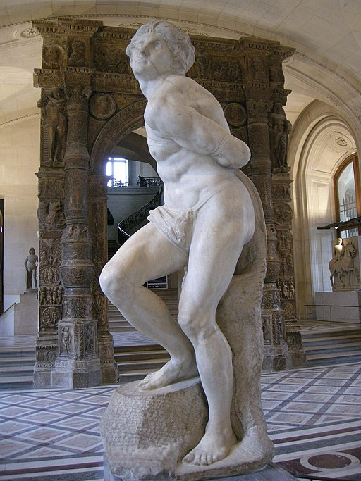"""Rebellious Slave"" by Michelangelo"