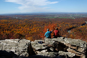 English: The Shenandoah Valley in the fall as ...