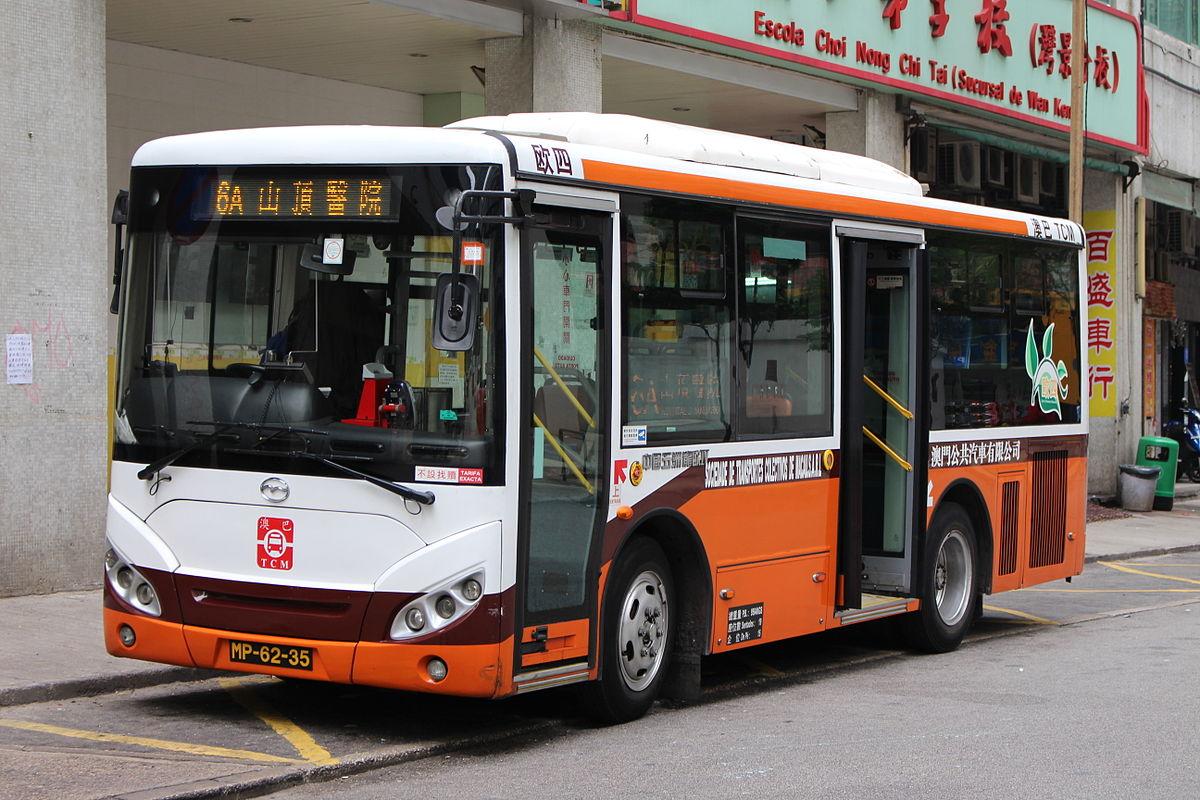 澳門巴士6A,6B路線 - 維基百科,自由的百科全書