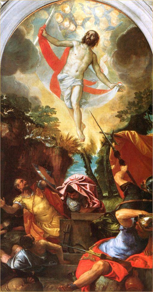 Veronese, Resurrezione, San Francesco alla Vigna, venezia