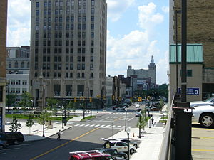 Downtown's Central Square (Federal Plaza) from...