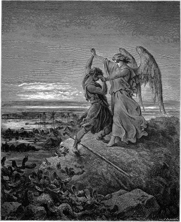 Jacob Wrestling With Angel - Wikipedia