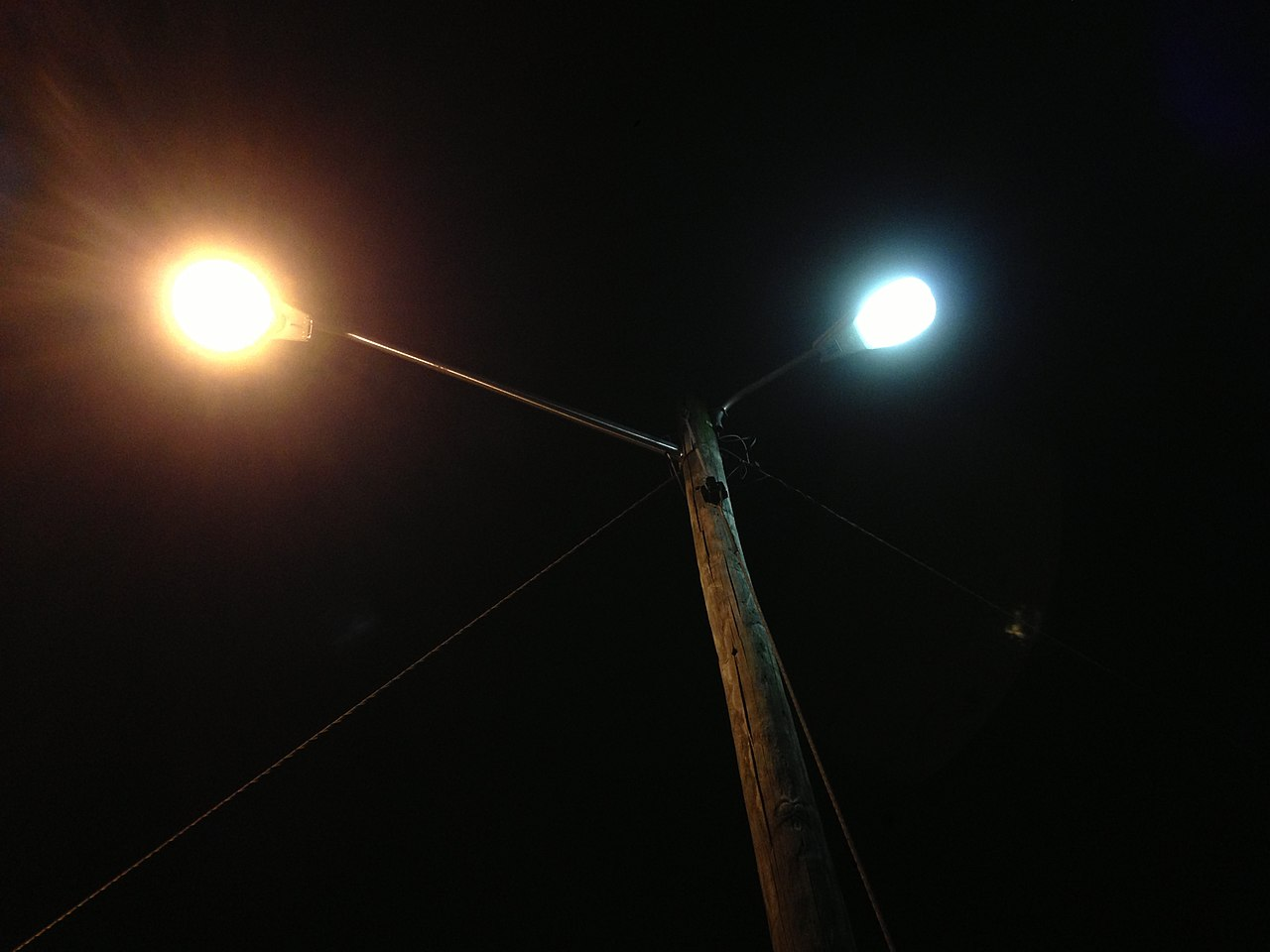 Mercury Vapor Light