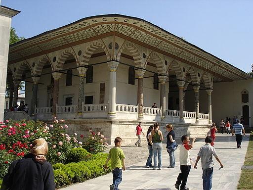 4104 Istanbul - Topkapi - Sala udienza (Arz Odasi) - Foto G. Dall'Orto 27-5-2006
