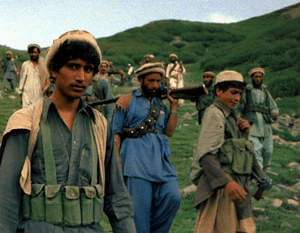 Mujahideen crossing in from Pakistan border, A...