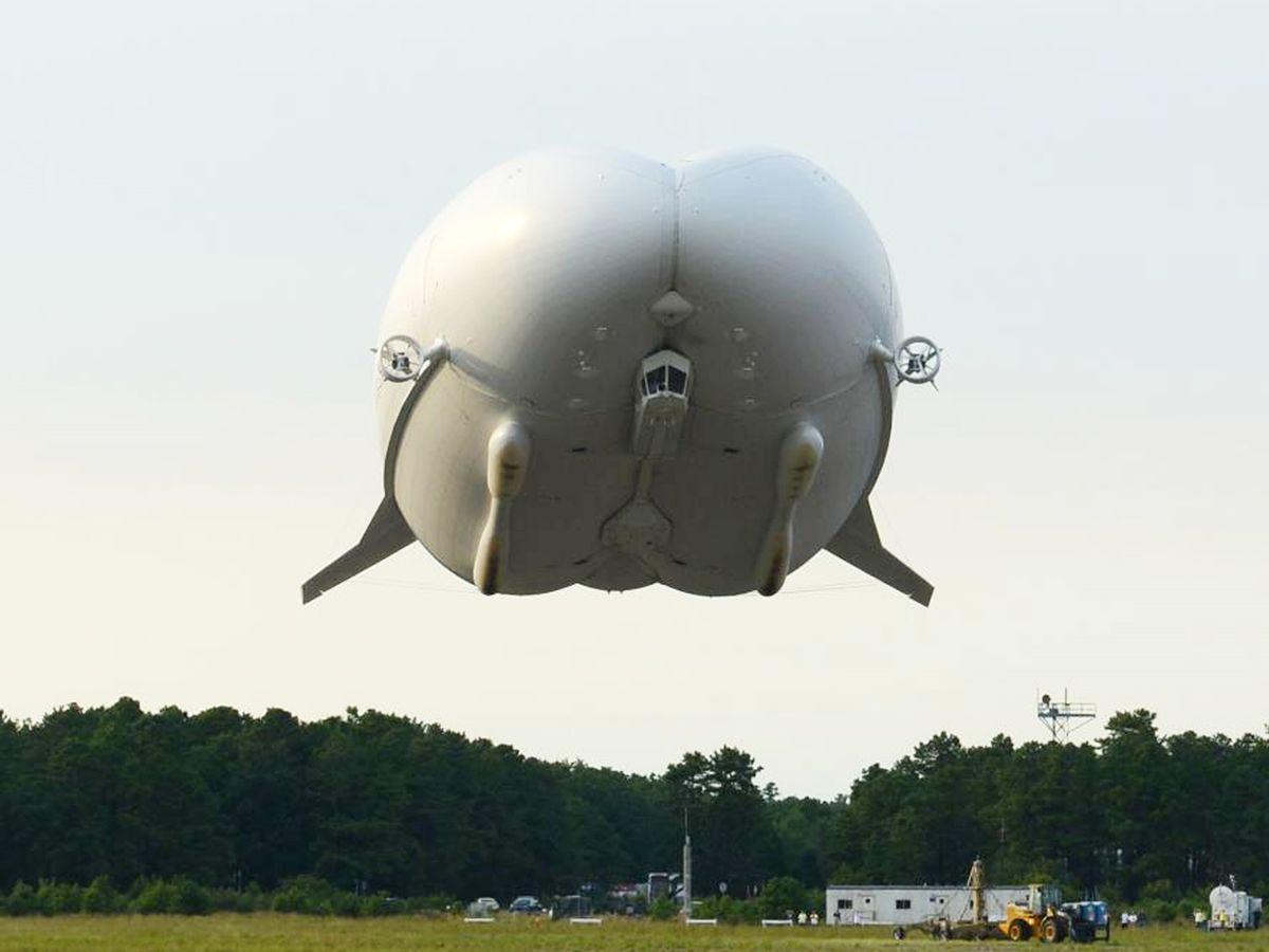 Hybrid airship  Wikipedia