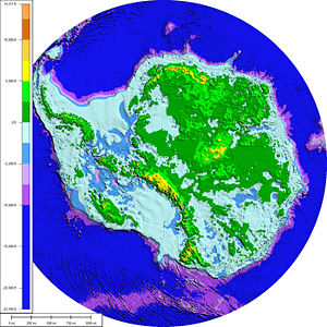 Subglacial topography and bathymetry of bedroc...