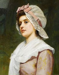 Charles Sillem Lidderdale A country maid