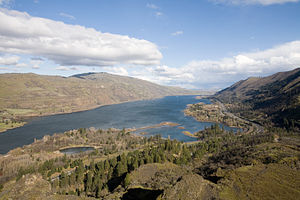 Columbia River from the Rowena overlook.