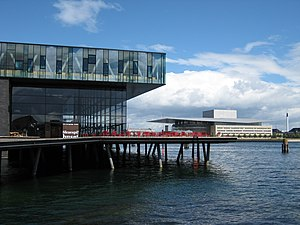 New Royal Theatre and Opera House in Copenhage...