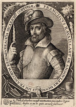François Ravaillac, assassin of King Henry IV,...