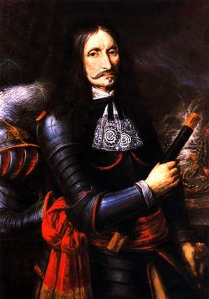 Generalfeldmarschall Georg von Derfflinger um 1670