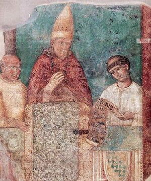 Pope Boniface VIII, who issued the decretal in...