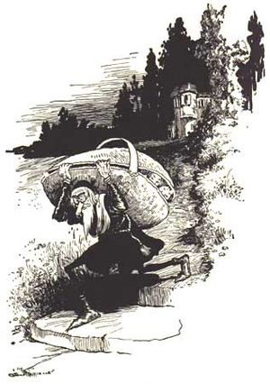 "Illustration from the book ""Grimm's Fairy..."