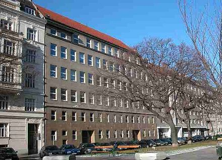 Czech Schools In Vienna The Komensk School At The Sebastianplatz Number Czech Schools In Vienna The Former Komensk School In The Vorgartenstra E